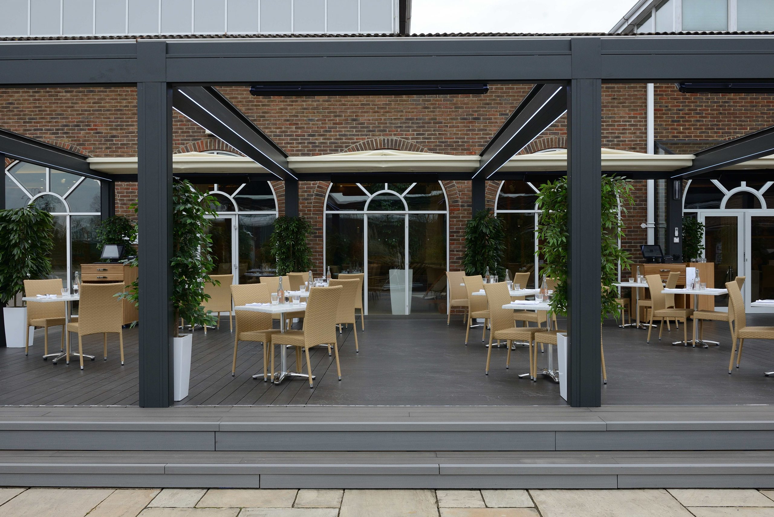 WALLBARN - Composite Decking shoot at ÔNirvana SpaÕ in Wokingham