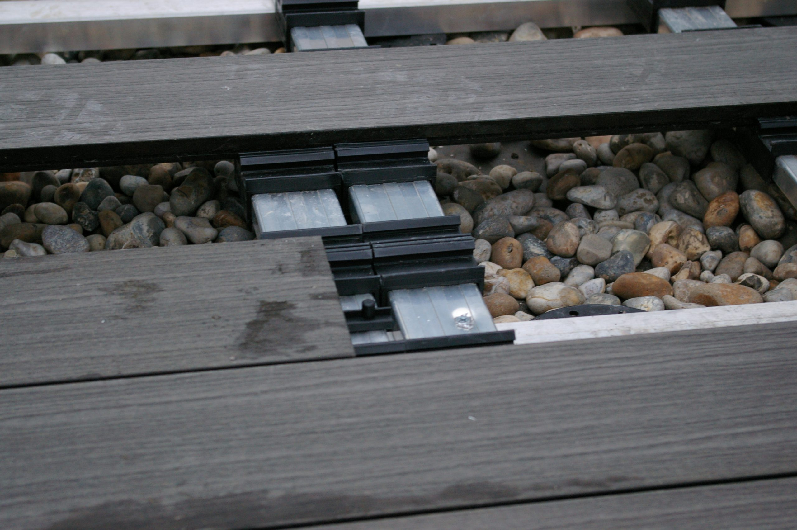 iDecking composite decking iJack detail