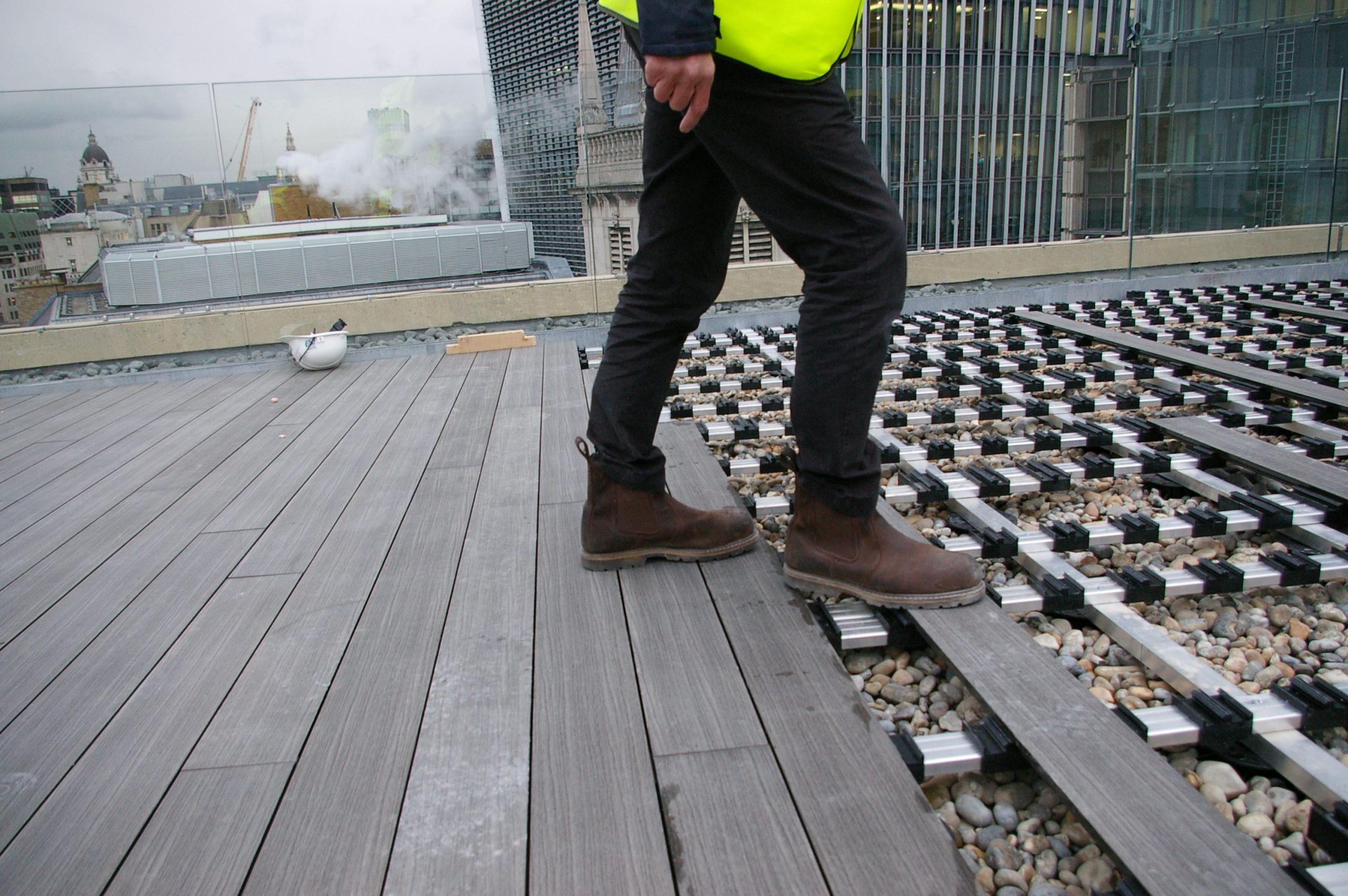 installing composite decking zero top fixing 6