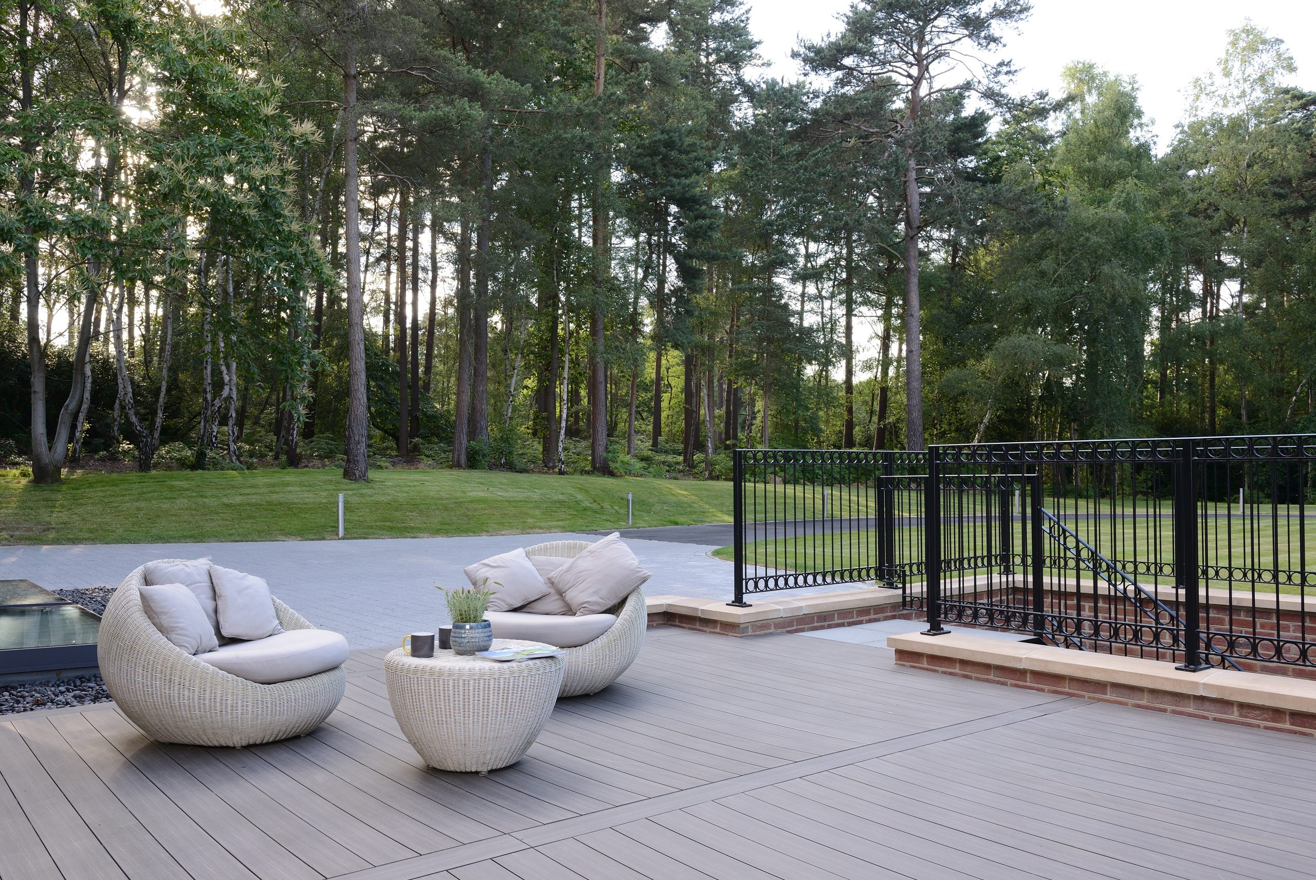 rooftop living composite decking