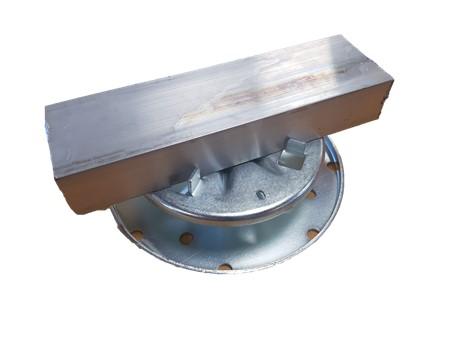 Adjustable Pad Class A Metalpad - Paving with joist