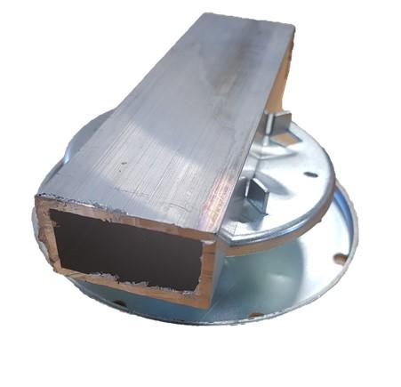 Class A Adjustable Pedestal Metalpad fore rated plain box joist