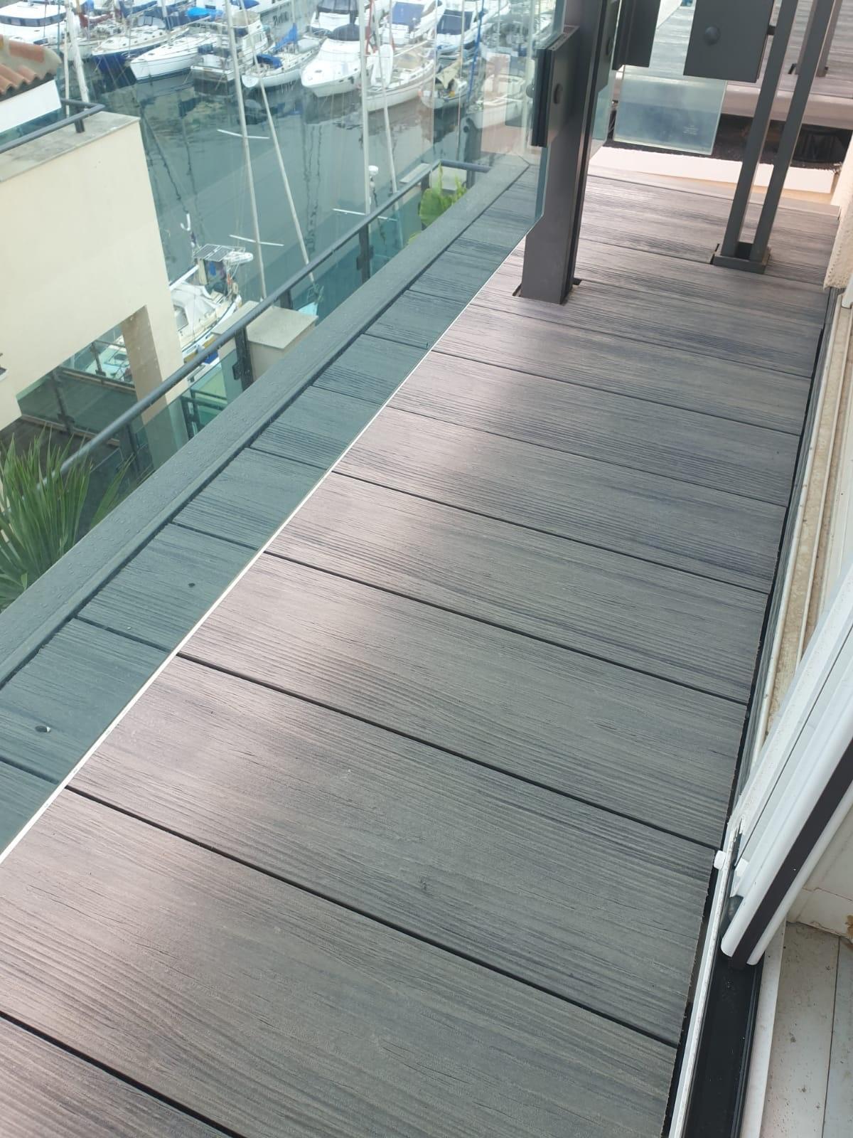 balcony composite decking Gibraltar