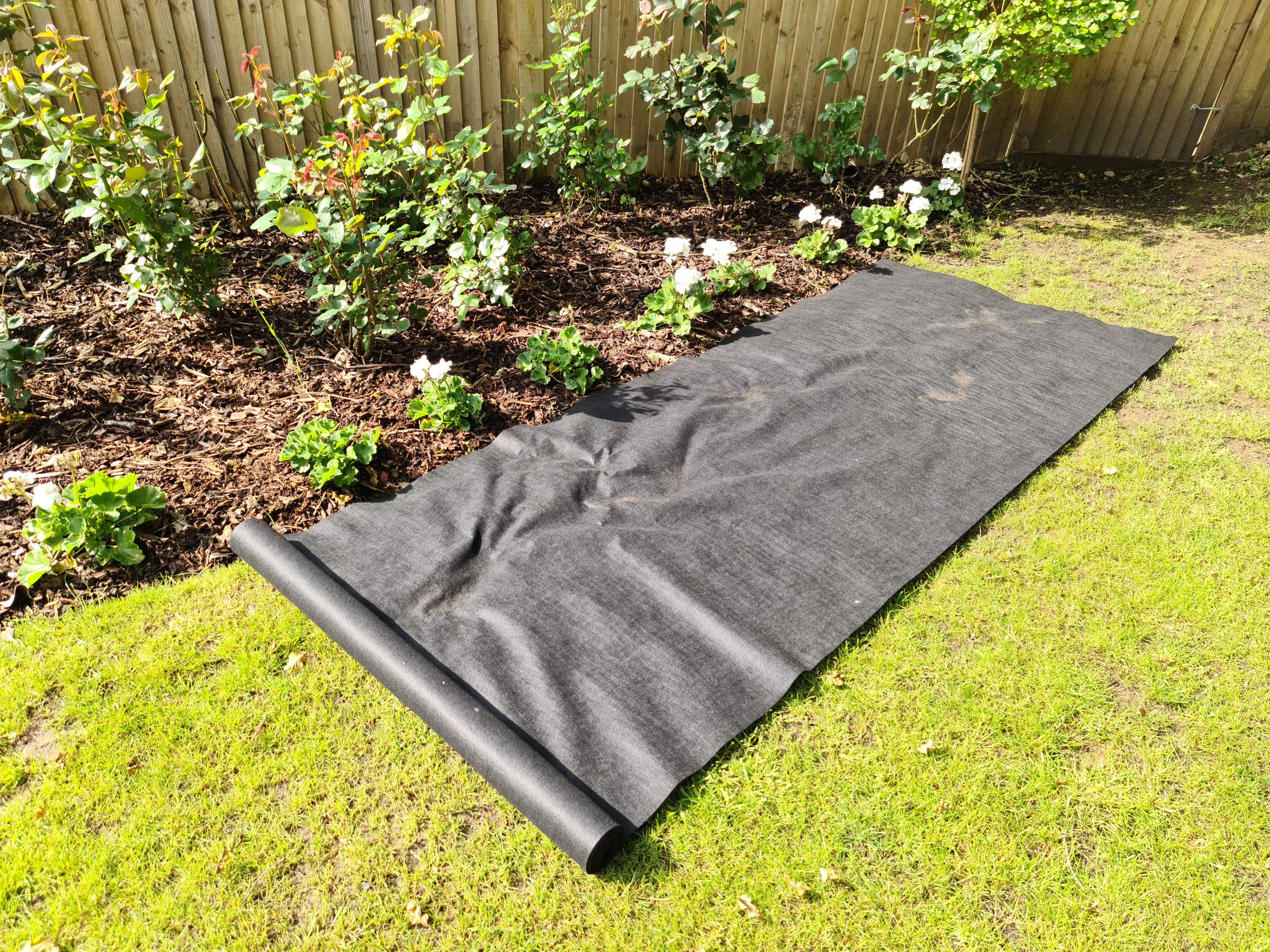 120gsm heavy duty weed barrier