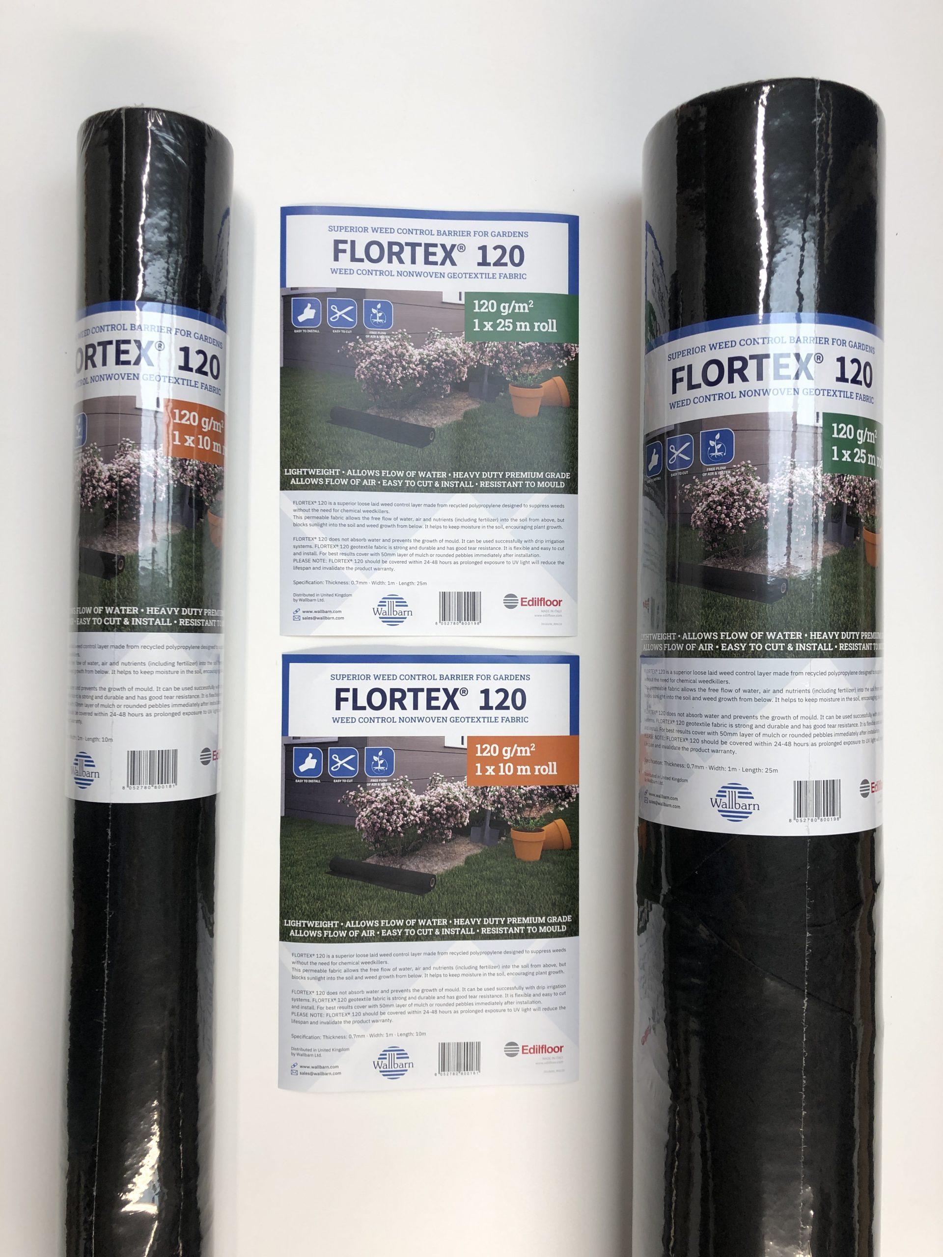 Flortex weed barrier