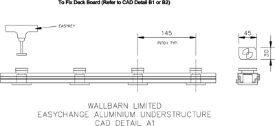 EasyChange Aluminium Understructure (CAD Detail A1)