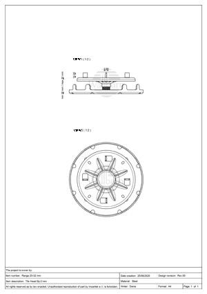 Class A1 Pedestal for Paving 25-32mm