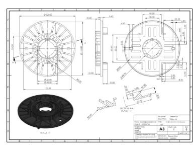 SP-MEG-BAL-075-Z Decking Top