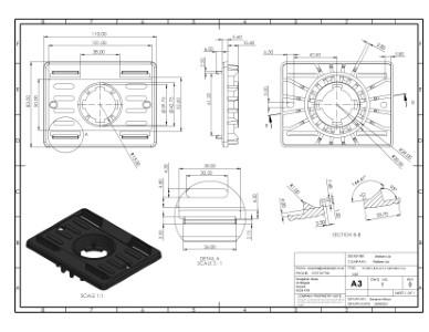 SP-MEG-BAL-075-Z MetalBar Top