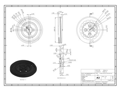 SP-MEG-BAL-075-Z Thread h25-30