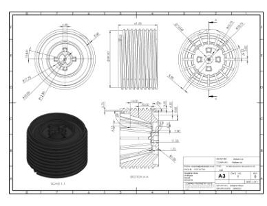 SP-MEG-BAL-075-Z Thread h75-150