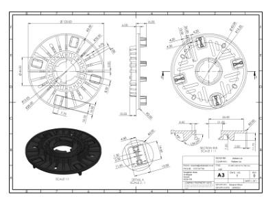 SP-MEG-BAL-075-Z Tile Top